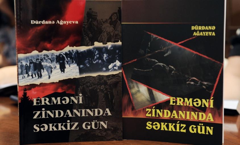 """Beynəlxalq Mətbuat Mərkəzində """"Erməni zindanında səkkiz gün"""" kitabının təqdimatı olub"""